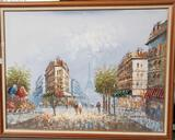 Burnett Parisian Street Scene