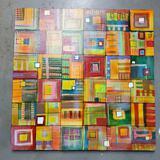 Floridian Artist Su Daitch Acrylic On Canvas # 3