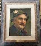 Bernd Funke (1902-1988) Germany Portrait Of