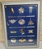 1992 Franklin Mint Sterling Silver Star Trek Insignia Collection