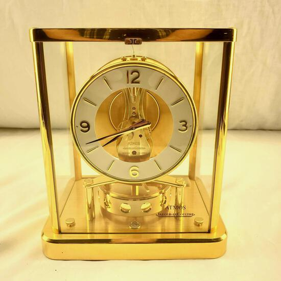 Swiss Atmos Jaeger-Le Coultre Mantle Clock