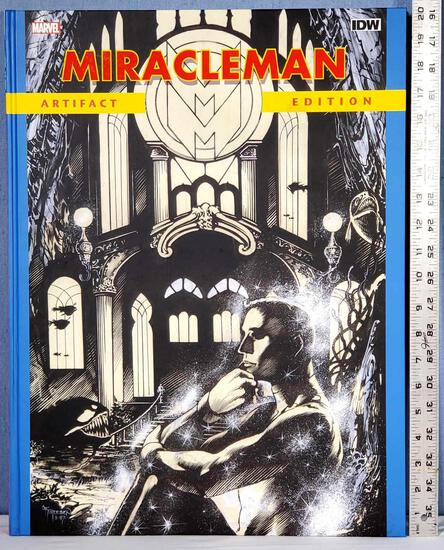 """IDW Marvel Miracleman Artifact Edition 20.5"""" x 15.25"""" Hard Back LE 2015 Art Book"""