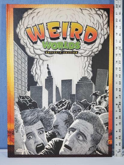 Basil Wolverton's Weird Worlds Artist's Edition King Size IDW Hard Back