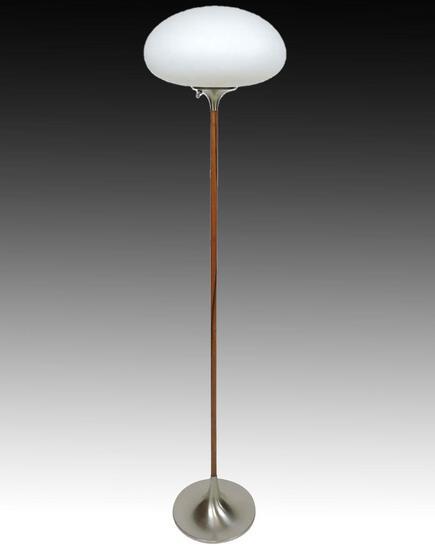 Vintage Laurel Lamp Co. Mushroom Shade Floor Lamp
