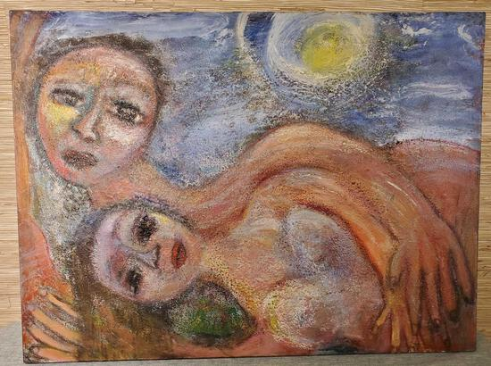 Hegina Rodrigues Oil on Canvas Painting