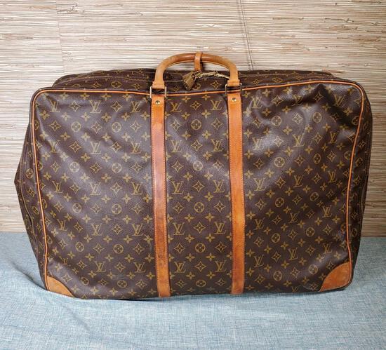 Authentic Vintage Louis Vuitton Suitcase with COA