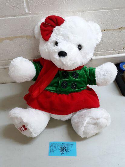 Plush, 2012 Christmas Bear