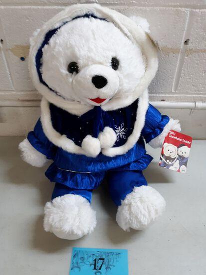2011 Blue Holiday Bear