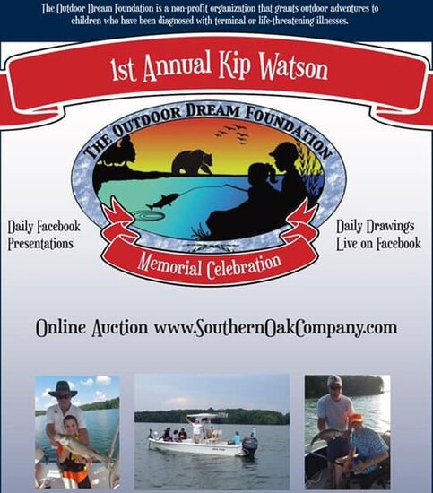 1st Annual Kip Watson Memorial Celebration Auction