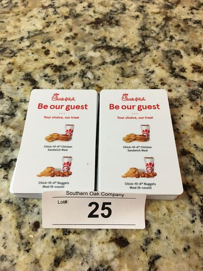 52 Chick-Fil-A Combination Meals