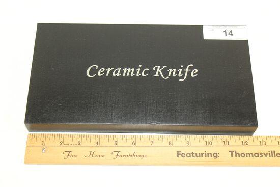 Wolfgang Cutlery Ceramic Knife Set.  New!