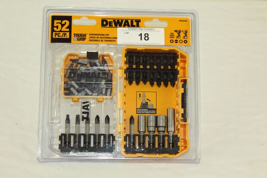 DeWalt 52 Pc. Tough Grip Screwdriving Set