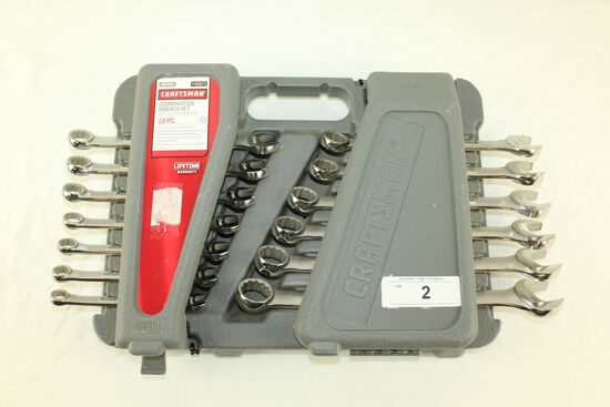 Craftsman 13 Pc. Combination Wrench Set - Metric