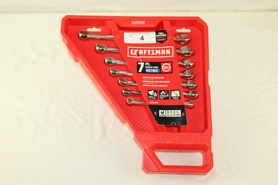 Craftsman 7 Pc. Raised Panel 12 PT Wrench Set - Metric