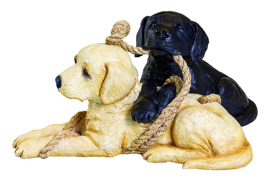 Playful Pups Sculpture