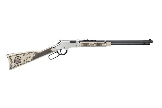 HENRY REPEATING ARMS GOLDENBOY SILVER AMER EAGLE 22 LR