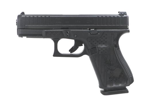 Glock 44 22lr Black with Eagle