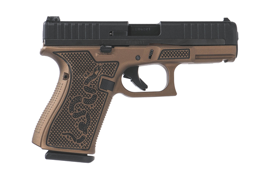 Glock 44 .22lr Bronze with snake edition