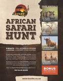 African Safari Hunt for 4 With Kuche Safaris
