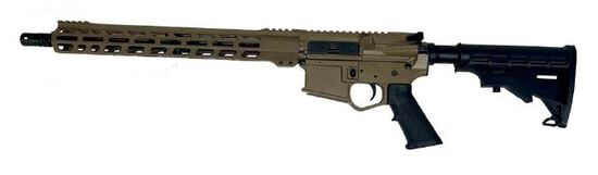 "Wise Arms AR 5.56 Optics Ready 16"" Riffle FDE"