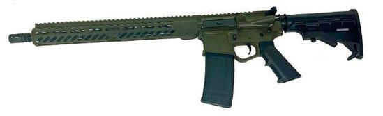 "Wise Arms AR 5.56 Optics Ready 16"" Riffle ODG"