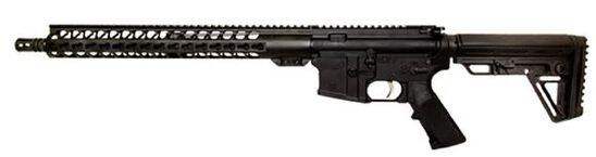 "Wise Arms AR 5.56 Optics Ready 16"" Riffle Black"