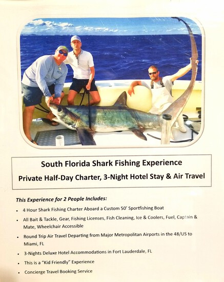 South Flordia Shark Fishing Experience