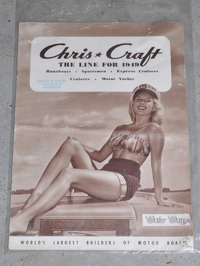 Chris Craft Catalogues 1957 and 1949