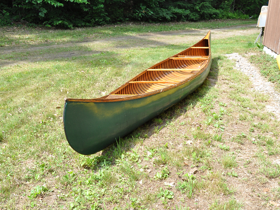 1940s Native American Made Canoe