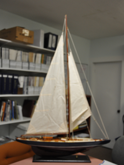Model of Blue Nose Sailboat