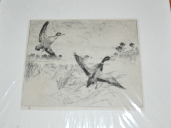 Group of 3 Frank Bensen Etchings