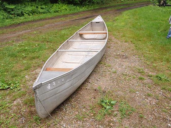 Aluminum Canoe 1
