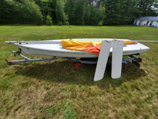 Laser 2 Sailboat