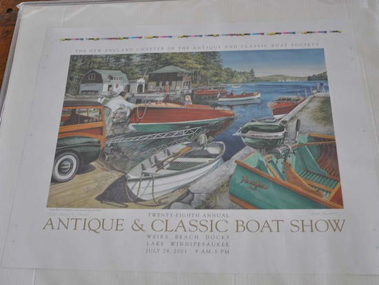 Annual Antique and Classic Boat Show Print