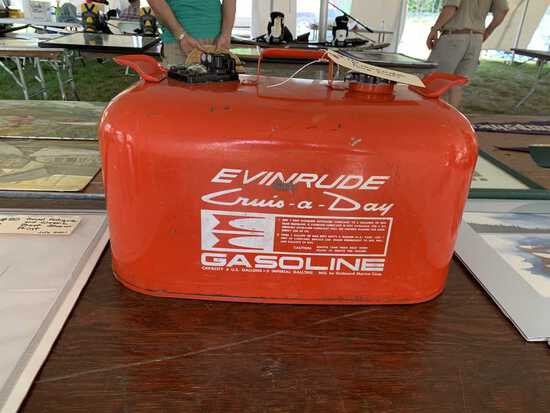 Evinrude Gas Can