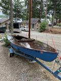 1941 Snipe Sailboat