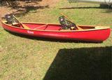 Stowe Fiberglass Canoe
