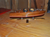 Wood Boat Model 1
