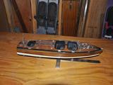 Wood Boat Model 2