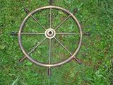 Brass Captain's Wheel