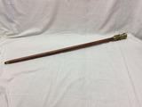 Mahogany Walking Stick and Telescope