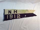 1912 Dated NH Felt pennant
