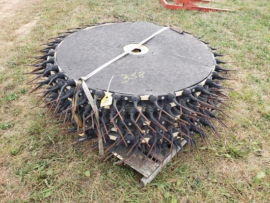 Rake wheels