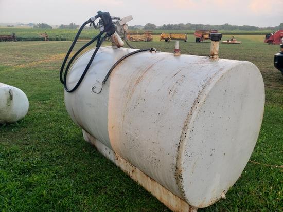 500 Gal Fuel Tank W/Pump