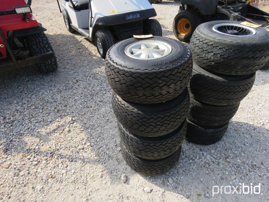 4 Golf Cart Tires And Wheels