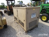 20kw Stewart And Stevenson Generator Model 1e25ds-1 Serial # 128534 W/ Jd 297 Engine Appx 344 Hours