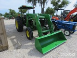 Jd 1450 Tractor W/ Jd 100 Loader Appx 2,651 Hours Serial # Ch1450a001128