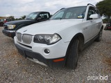 2007 Bmw X3 Car (salvage Title) Vin # Wbxpc93467wf09936 (salvage Title On Hand And Will Be Mailed Wi