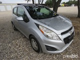 2013 Chevrolet Spark Suv Appx 96,117 Miles Vin # Kl8cb6591dc555641 (title Received And Will Be Maile