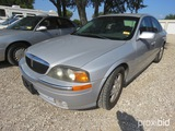 2001 Lincoln Ls Car Appx 138,342 Miles Vin # 1lnhm86s01y651061(title On Hand And Will Be Mailed With